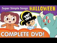 English Corner Time: Halloween Songs for Kids! | 28 minutes Full DVD from Super Simple Songs http://englishcornertime.blogspot.com