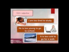 Video tutorial. English Grammar: Too much, too many, not enough and very