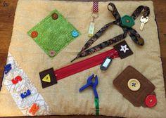 SOLD -  Large Fidget Quilt Sensory Blanket for Alzheimer's, Dementia, Stroke, Nursing Home, Hospital Patients, Autism - The Fairy Felt Mother - Etsy