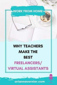 Becoming a work at home mom doesn't just have to be a dream. You can quit teaching for good and get started making money from home TODAY. On today's episode of the Ditch the Classroom podcast, I'm sharing why teachers make the best freelancers/virtual assistants. If you're ready to ditch the classroom for good, spend more time with your kids, and become a freelancer and/or virtual assistant while working from home, then this is for you.