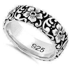 Cocktail Ring 925 Sterling Silver Platinum Plated Black Spinel White Topaz Jewelry for Women Size 9 Ct 10.6