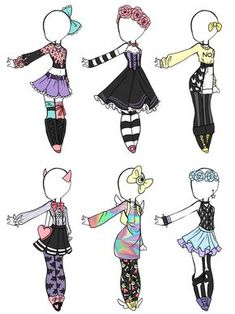 Goth style 402720391677684716 - Emergency OTA Pastel Goth adoptables OPEN) by Aligelica on DeviantArt Source by marina_salisch Manga Clothes, Drawing Anime Clothes, Kawaii Drawings, Cute Drawings, Outfit Drawings, Dress Sketches, Drawing Sketches, Pastell Goth Outfits, Arte Copic
