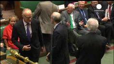 El Parlamento británico vota a favor de reconocer a Palestina como Estado al lado de Israel.