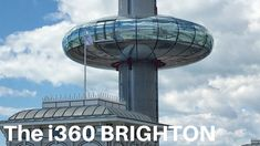 A ride on the BA i360, Brighton, UK