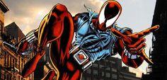 Após seu chocante retorno na sagaSpider-Man: The Clone Conspiracy,o primeiro clone de Peter Parker,Ben Reillyirá retornar ao manto doAranha Escarlate,ganhando um novo título mensal nos quadrinhos. Agora, aMarveldivulgou a capa da primeira edição de sua nova revista, bem como o visual completo do novo traje do aracnídeo! O título, chamadoBen Reilly: The Scarlet Spiderserá escrito …