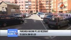 Atentie șoferi! Dacă parcați în Alba Iulia pe un loc de parcare platit cu abonament puteți să fiți amendați de poliția locală cu sume cuprinse între 100 si 200 de lei. Costa, Lei, Park