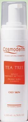 [Cosmoderm] NEW Natural Facial Wash Fresh Organic Bubble Foam Cleanser (Tea Tree) by Cosmoderm. $59.91. Certified by USDA - It's 100% organic product which was certified by USDA (United States Department of Agriculture) and OTCO (Oregon Tilth Certified Organic).. There are more various types of cleanser for each skin type and it's water-soluble facial cleanser to not to damage skin.. None harmful ingredients are contained - Surfactants, detergents, artificial fla...