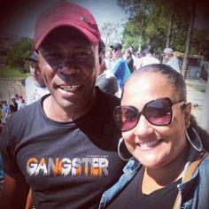 Ismael Sabino ( TIcão e esposa)