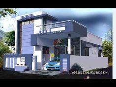 House Porch Design, House Outer Design, Single Floor House Design, Best Modern House Design, Modern Exterior House Designs, House Design Photos, Small House Design, House Elevation, Front Elevation