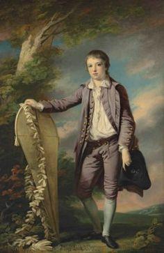 Francis Cotes, R.A. (London 1726-1770) Portrait of Master Smith