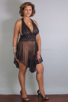 Sweet nice milf in sexy wonderfull outfith