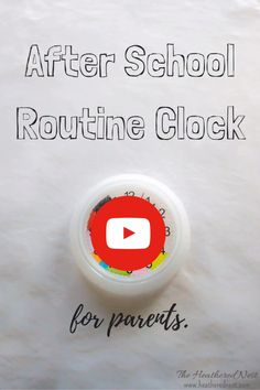 Easy, DIY after school routine clock for PARENTS. Let's face it, the kids are uncontrollable. This is just our personal, grasping at straws attempt to keep ourselves sane for the hours of After School Schedule, Daily Routine Schedule, Toddler Schedule, Daily Routines, Parenting Humor, Parenting Advice, Radios, Toddler Clock, Clock For Kids