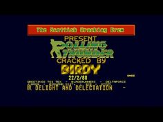Rolling Thunder Cracktro by The Scottish Cracking Crew, 1988   Atari ST   1440p/50fps - YouTube