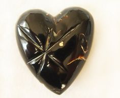 Rare Black Coral Pendant by Kollektions on Etsy