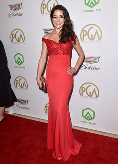 Photo of Emmanuelle Vaugier Celebrity Red Carpet, Celebrity Style, Emmanuelle Vaugier, Fan Edits, Red Carpet Event, Lady In Red, Photo Galleries, Awards, Couture