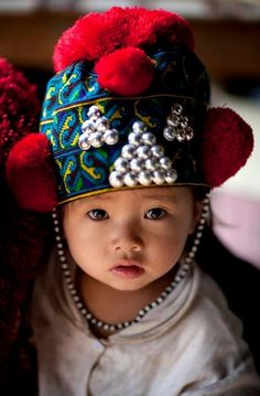 Baby boy from Laos | Eric Lafforgue Photography