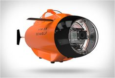 So you've got a GoPro and a thirst for underwater footage. Unless you're wearing scuba gear, you're probably not going to be able to take it very far down. That's where the Seawolf GoPro Submarine comes in. This submersible vehicle. Drones, Gopro Drone, Gopro Camera, Fisher, Linux, Underwater Drone, Gopro Action, Cool Technology, Gopro Hero