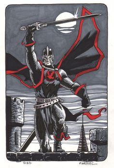 Black Knight by Matt Wagner Comic Art