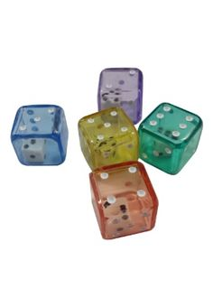 Double Dice 19mm  Different colors to chose from.