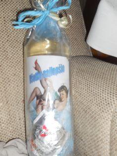 sexy  darovacia fľaša