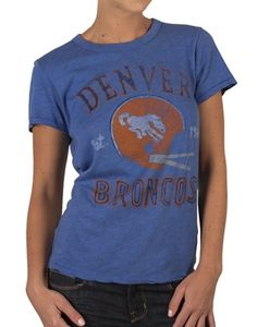 NFL Denver Broncos tee shirt for women  25 by Junk Food fcb62b9b5d