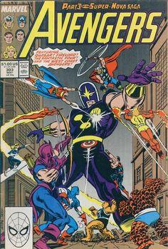 Avengers 303- John Buscema