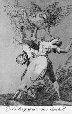 No hay quien nos desate?  - Francisco de Goya