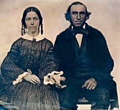 vintage everyday: Wealthy Victorian Couples – 62 Fabulous Portrait Photos of 'Husband & Wife' from between the 1840s and 1850s