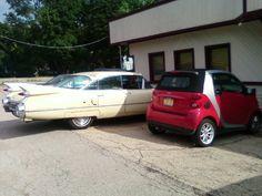 Smart Car...& a Not-So-Smart Car!