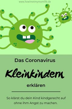 How do I explain the Corona virus to my children? - HOW I MET MY MOMLIFE - How do I explain the corona virus to my children? I was faced with this question at the latest when - Applique Disney, Kindergarten Portfolio, Parental Rights, Virus, Hand Hygiene, My Children, Baby Love, Baby Kids, Homeschool