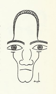 Almada Negreiros- desenhos Gustav Klimt, Surrealism, Sculptures, Portrait, Creative, Illustration, Portugal, Backgrounds, Paintings