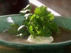 Black Bean Soup Recipe : Tyler Florence : Food Network - FoodNetwork.com