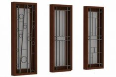 Home Window Grill Design, Window Grill Design Modern, Grill Door Design, Window Design, Railing Design, Gate Design, House Design, House Windows, Windows And Doors