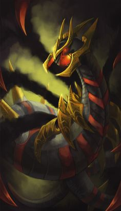 Giratina in any of his forms is one of my favourite legendary pokemon