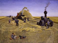Threshing Crew - John Philip Falter