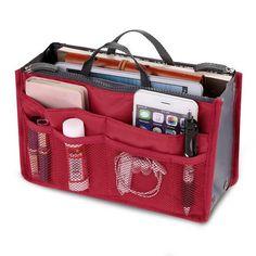Slim Ultimate Organizer Makeup Storage Case, Makeup Bag Organization, Cosmetic Storage, Cosmetic Bag, Bra Storage, Jewelry Storage, Jewelry Box, Travel Handbags, Purses And Handbags