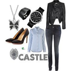 kate beckett clothes - Yahoo Image Search Results