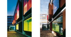 U.F.R. Arts Universite Paris | Saint-Denis, Paris, France | Jacques Moussafir Architectes | photo by Georges Fessy