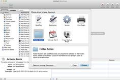 Automator: Running a Workflow on Folder Contents