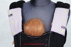 Gurtschoner für Babytrage von Huckepaeckchen auf Etsy, €14.00