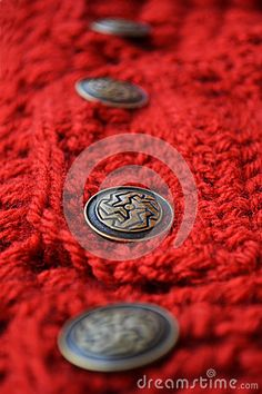 Crochet Fabric With Metal Buttons - Download From Over 30 Million High Quality Stock Photos, Images, Vectors. Sign up for FREE today. Image: 50956255
