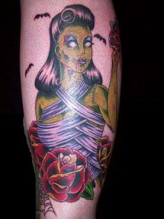 Zombie Girl Tattoo