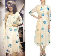 Hansika Motwani rocks the summer festive look in style with this creation by Picchika #getthelook #shopthelook #celebspotting #bollywood #bollywoodactor #celebstyle #indianfashion #style #picchika #perniaspopupshop #shopnow