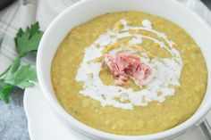 Make and share this Uncle Bill's Green Split Pea With Hambone Soup recipe from Food.com.