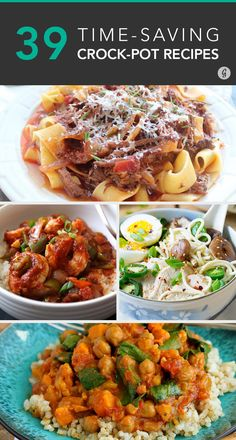 Cook once and eat great all week! #crockpot #dinner #recipes