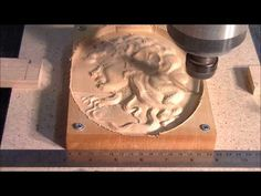 My Chinese 6090 CNC router machining a 3D relief from a grayscale - YouTube Cnc Router Machine, 3 D, Chinese, Wood Carving, Youtube, Check, Gallery, Collection, Wood Sculpture