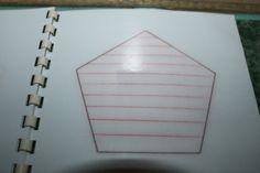 třetí použití šablony-šrafování