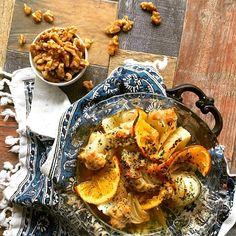 胡桃鶏団子と新玉ねぎのシトラス醬油焼き トースターで簡単 by 青山清美(金魚) / トースターでほっとくだけ。果汁でとっても爽やか♪ / Nadia