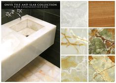 Onyx has a long history, used in Egypt as early as the Second Dynasty to adorn the most exclusive of residences. Our collection of Onyx Tile and Slabs contain vivid translucency that allows its natural banded veins of color to shine through, creating a unique depth, range of color, and various distinctive textures.