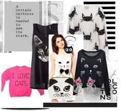 """Cats 3"" by me2carly on Polyvore"
